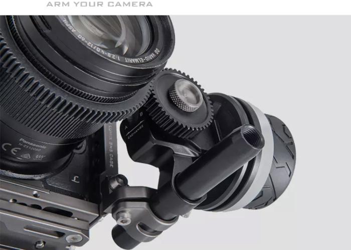 Tilta manual follow focus 15mm clamp  - 1