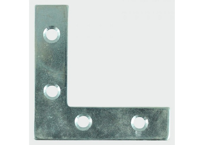 TIMco 75CPL Corner Plate 75 x 75 x 16mm Box of 50 - 1