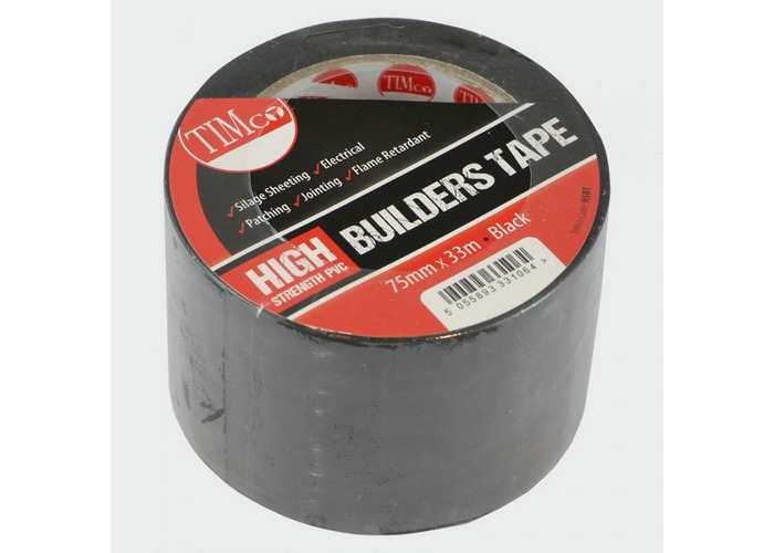 TIMco HSBT High Strength Builders Tape 33m x 75mm  - 1