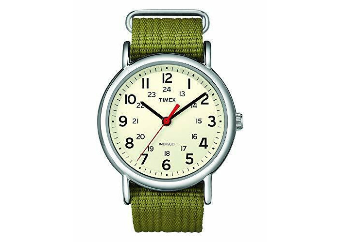 Timex Mens Analogue Classic Quartz Watch with Leather Strap - 1