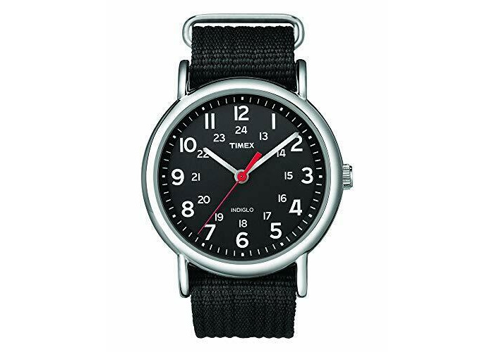 Timex Mens Analogue Classic Quartz Watch with Leather Strap - 2