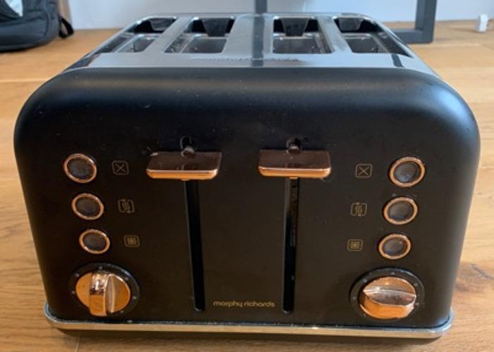 Toaster, Morphy Richards (4 Piece Toaster) - 2