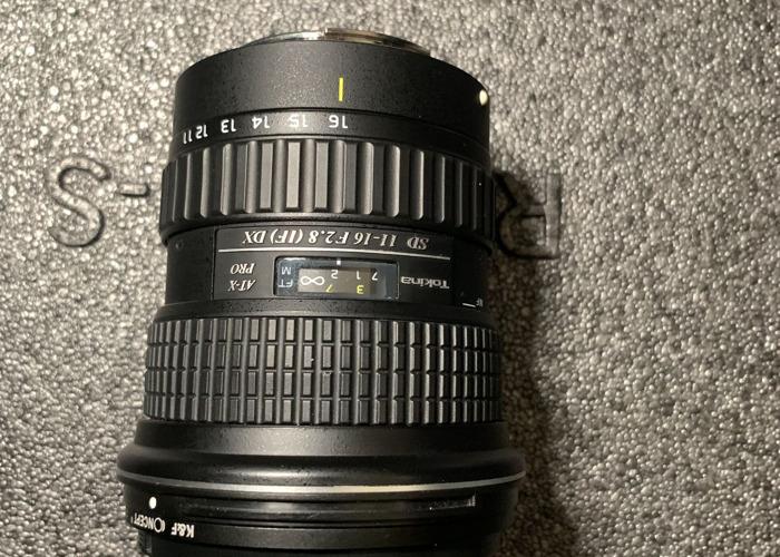 Tokina 11-16mm  2.8 Lens - 1