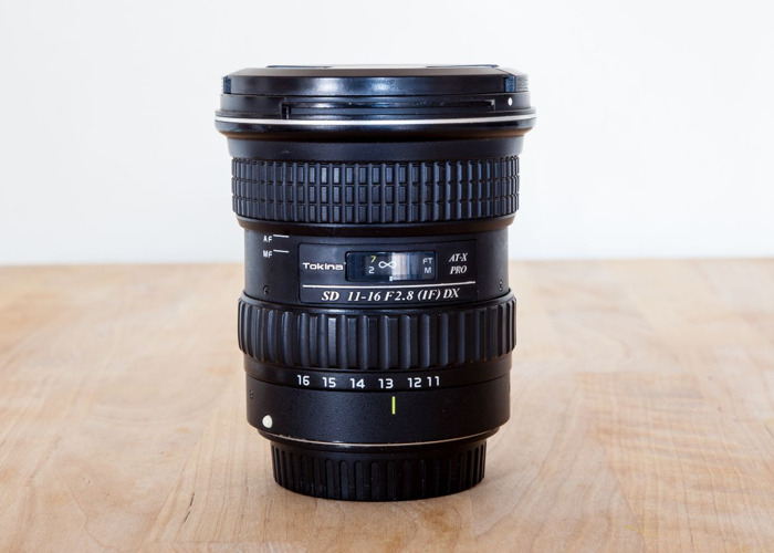 Tokina 11-16mm F2.8 ATX Pro / EF Mount  - 1