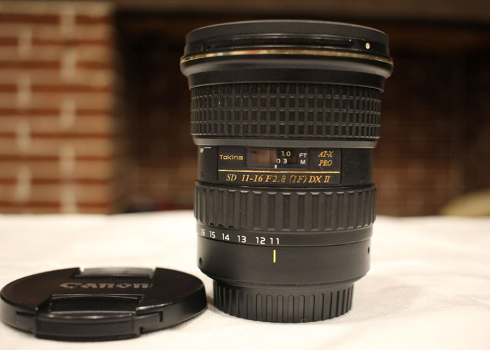 Tokina 11-16mm f/2.8 EF Lens - 1