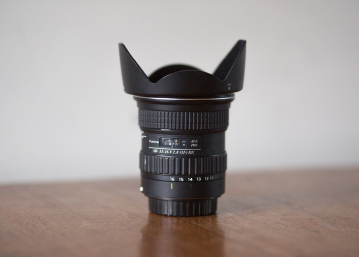 Tokina 11-20mm f/2.8 DX Lens for Canon EF - 1