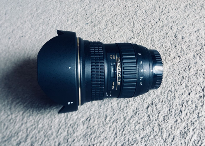 Rent Tokina 11-20mm F2 8 Wide angle lense for Nikon in