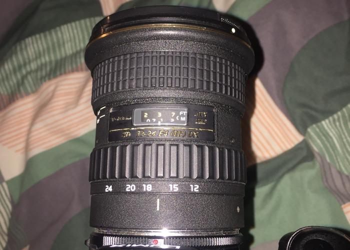 Tokina 12-28mm f4 AF AT-X PRO DX Lens - Lumix Fit - 1