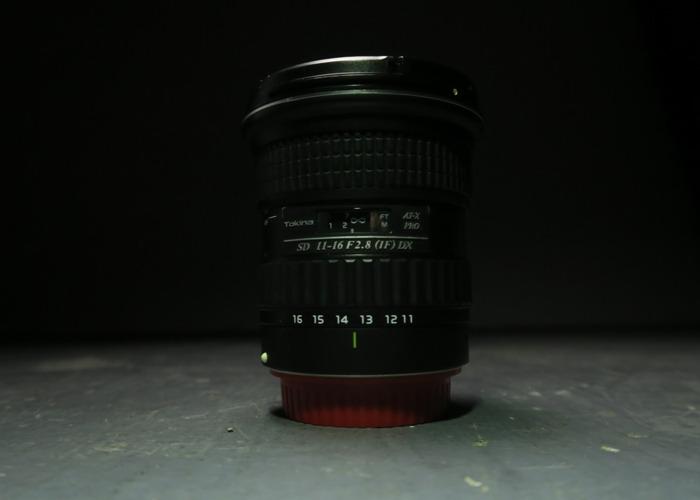 Tokina AT-X Pro 11-16mm f/2.8 DX - 1