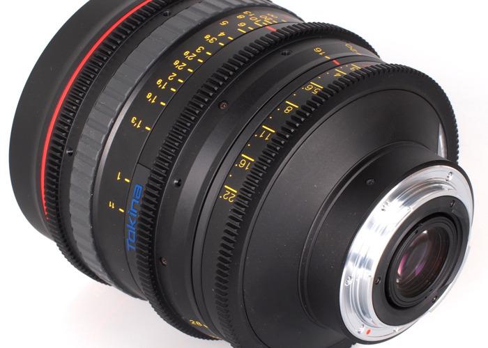 Tokina Cinema AT-X 16-28mm T/3 EF Lens - 1