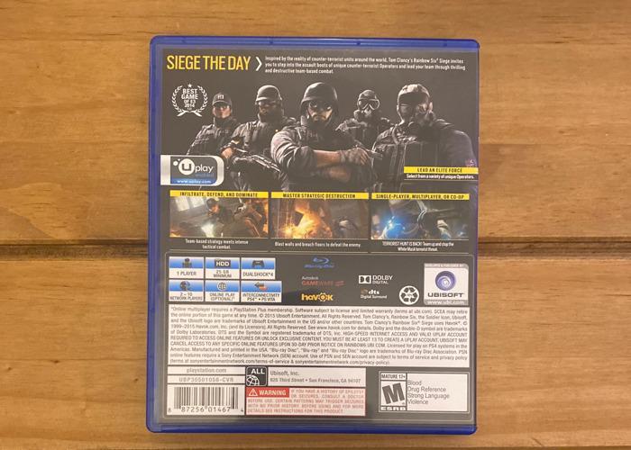 Tom Clancy's Rainbowsix | Siege PS4 - 2
