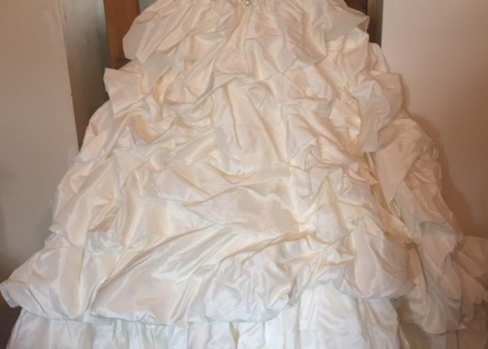 Tom flowers Romance wedding dress - 1