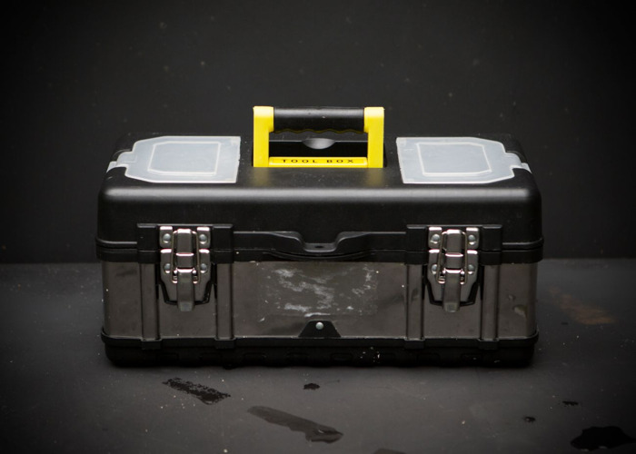 Tool box with tools: handy, everyday  - 1