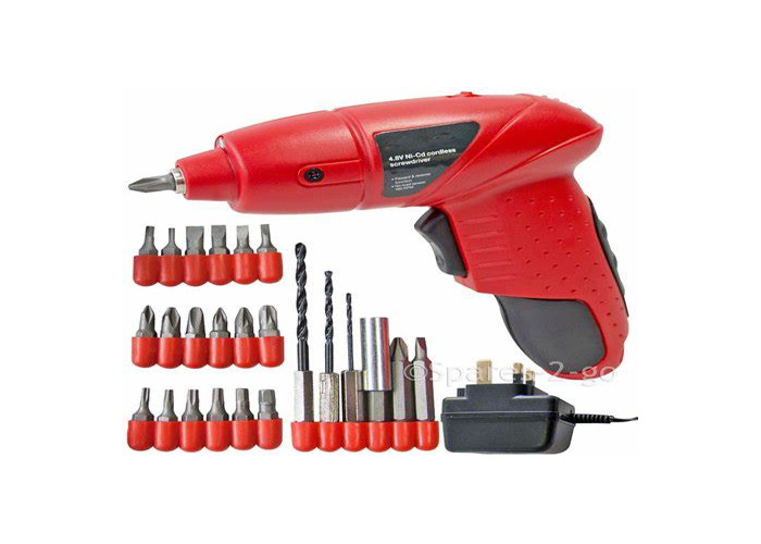 Tool Kit with Electric Screwdriver - 1