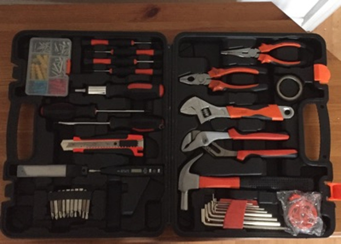 Tool kit with hammer - 1