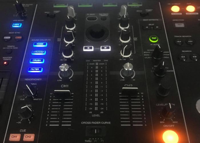 Pro Range Pioneer DJ Controller XDJ-RX w/ Flight Case - 2