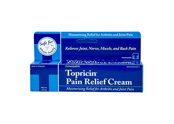 Buy Topricin Pain Relief Therapy Cream (2 oz) Fast Acting