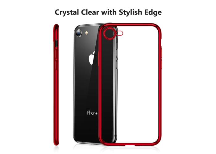 buy online 69905 7a571 Buy TORRAS iPhone 7 Case- 8- Crystal Clear [Anti-Yellow] Ultra Thin ...