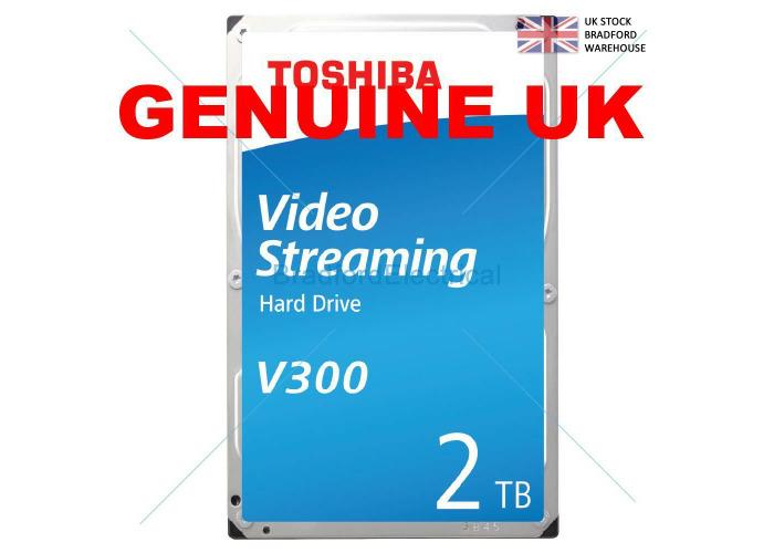 Toshiba V300 VS Hard Drive 2TB Surveillance HDD - 1