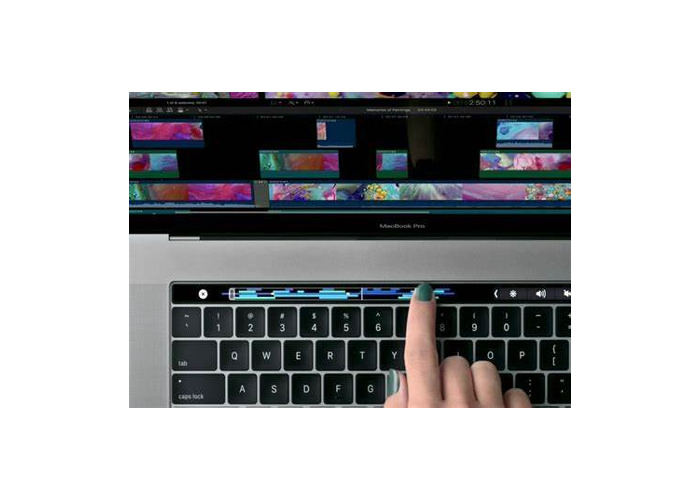 Touch Bar MacBook great for video editing! - 1