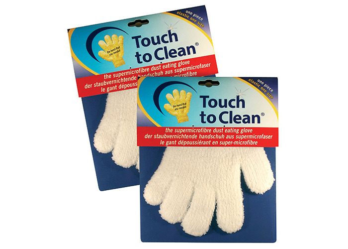 Touch to Clean Microfibre Glove, Pair - 1