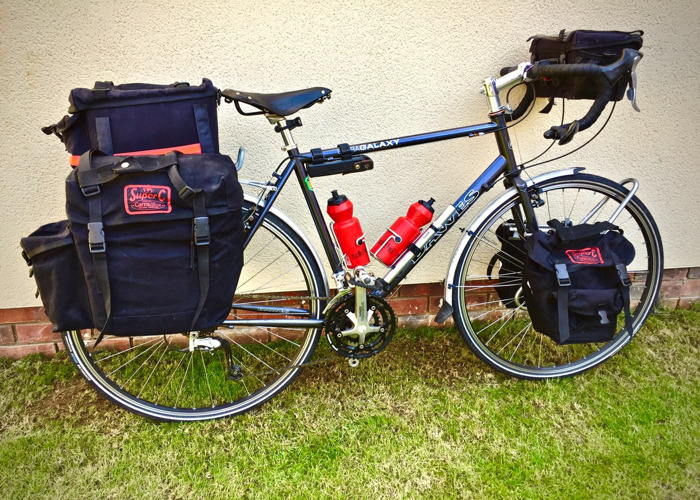 Touring Bike (Panniers available) - 2