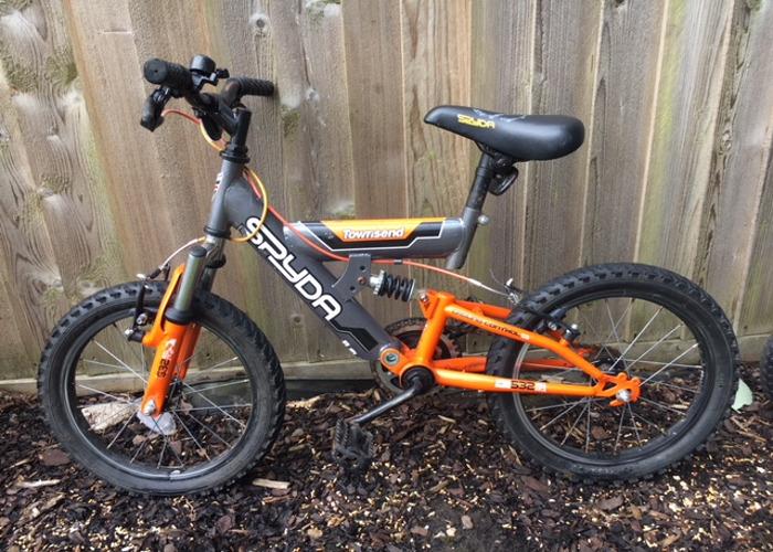 d2813a10cf7 Rent Townsend Spyda Kids Bike 16
