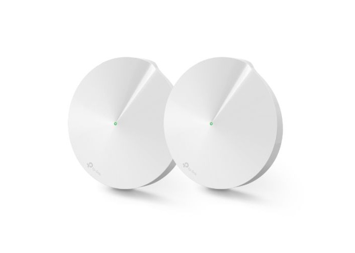 TP-LINK (DECO M9 PLUS) Smart Home Mesh Wi-Fi System, 2 Pack, Tri Band AC2200, Built-in Smart Hub - 1