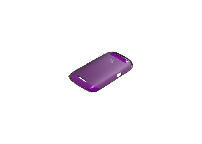 TPU Case for BlackBerry Curve 9350, 9360, 9370 purple original Soft Slight AC... - 1