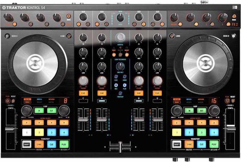 Controlador de DJ Traktor Control S4 MK2 - 2