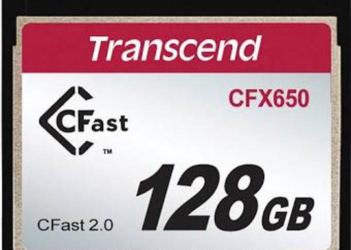 Transcend 128GB Professional CFast 2.0 Memory Card - 1