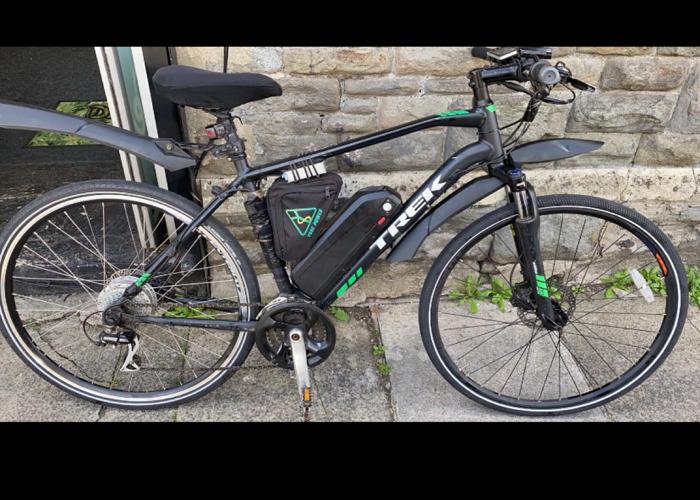 Trek Hybrid E Bike Electric Bike  - 1