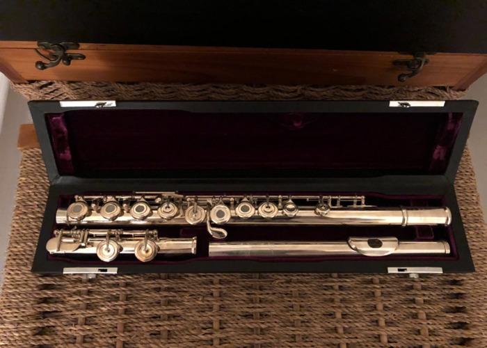 Trevor James Flute Open Holed - 1