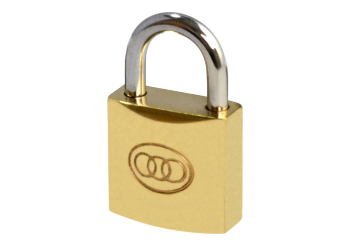 Tricircle 26 Series Brass Open Shackle Padlocks - 20mm KD  - 1