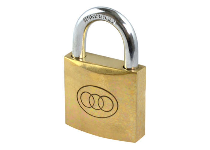 Tricircle 26 Series Brass Open Shackle Padlocks - 38mm KD  - 1