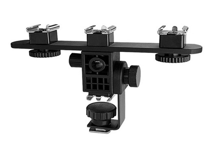 Triple Shoe Mount Adapter - 1