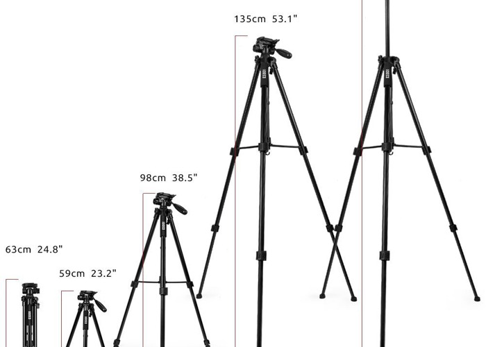 Tripod Lightweight with Carry Case - 2