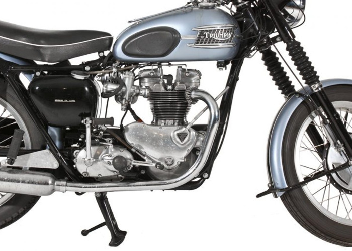 Triumph Motorcycles T100 Tiger (1955) - 2