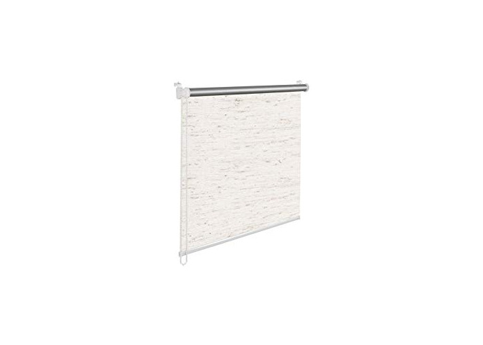 Tropik home Cream/Natural Thermal Blackout Window Roller Blind Available in 16 Width Sizes, 105cm wide (+ 4.5cm fittings) - 1