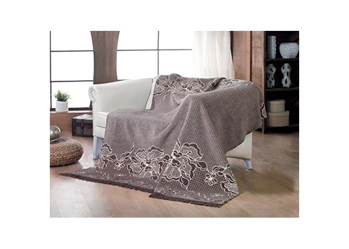 "Tropik Home Large Luxury Soft and Warm Sofa/Bed Throw Blanket 180 x 220CM (71"" x 86"") Model CT-05 - 1"
