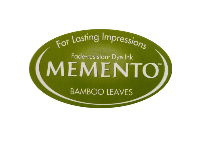 Tsukineko Memento Ink Pad Bamboo Leaves - 1