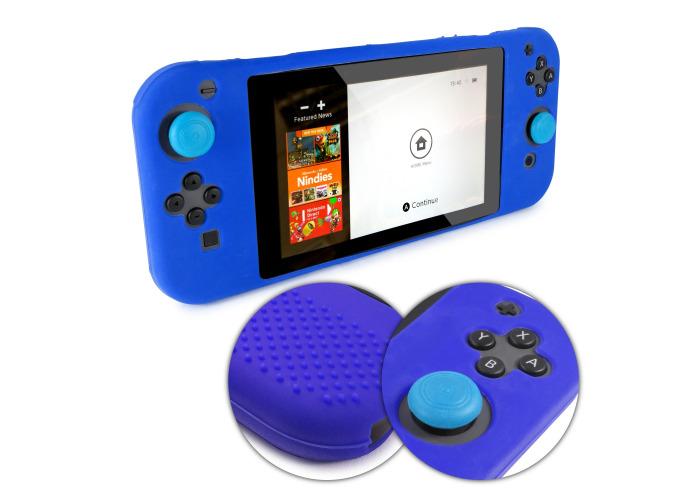 Tuff-Luv Silicone Skin for Nintendo Switch Joy-Con Controller 1 Part Blue - 1