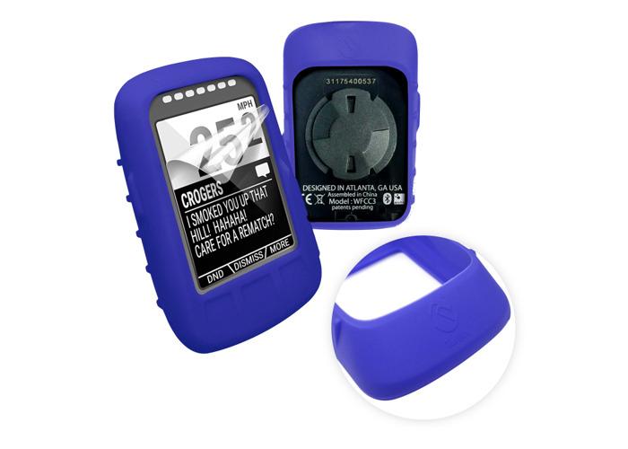 Tuff-Luv Silicone Skin for Wahoo Elemnt Bolt Blue - 1
