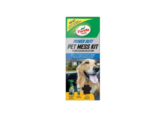 Turtle Wax 53037 Power Out! Pet Mess Kit - 1