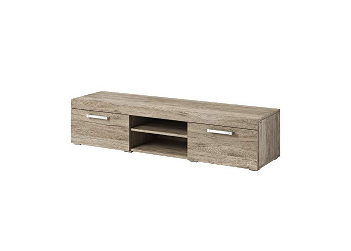 TV Unit Cabinet Stand Mambo Body Oak (San Remo) / Fronts Oak (San Remo) 160 cm - 1