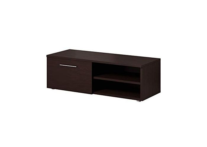 TV Unit Cabinet Stand Vegas 120 cm Dark Oak Wood Wenge - 1