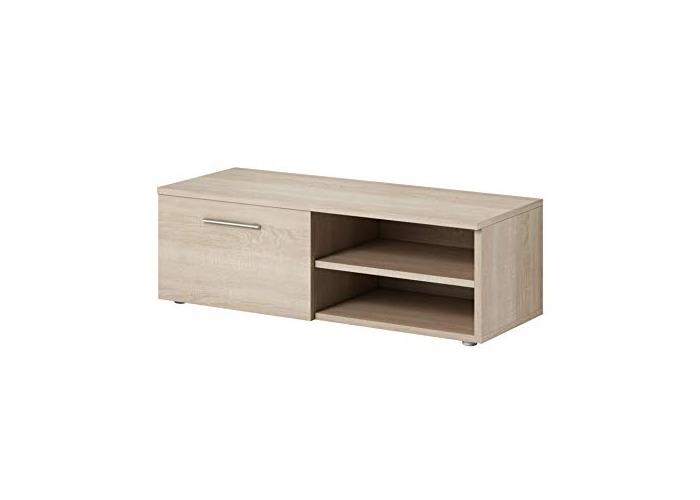 TV Unit Cabinet Stand Vegas 120 cm Light Oak Wood Sonoma - 1