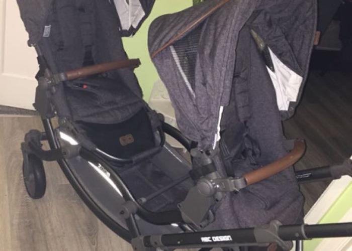 Twin Push Chair/ Twin Pram - 1
