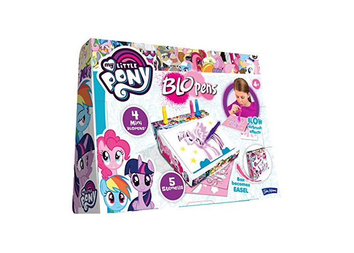 Twinkle Sparkle Best Selling Girls Children Kids Girl Child - John Adams My Little Pony BLO Pens Creative Case - Great Gift Present Idea for Birthday Christmas or Easter - 1