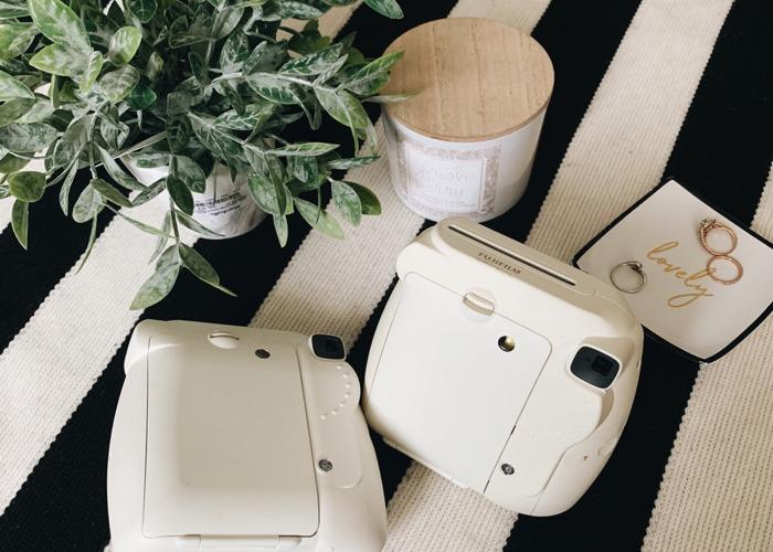 Two Fujifilm Instax Mini 8 Instant Cameras - 2